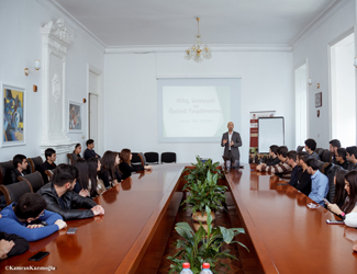"Training on the topic of  ""Speech, communication and presentation skills"" was held in the Western University"