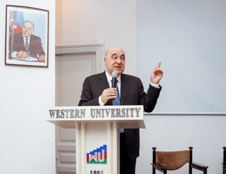 Western University held a meeting with the National Writer