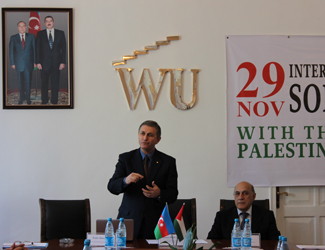 Meeting with Extraordinary and Plenipotentiary Ambassador of The State of Palestine