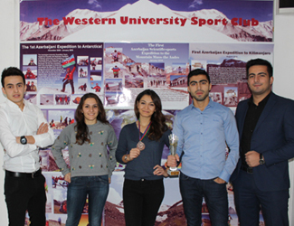 Western University Sports Club Won second place