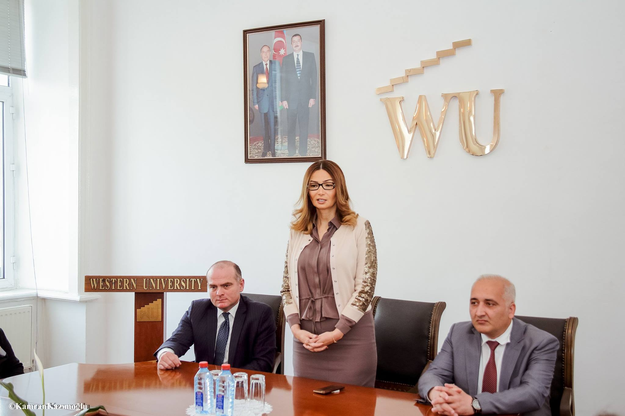 MP Ganira Pashayeva meets students at Western University.
