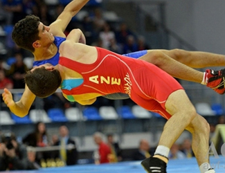 University student has achieved success in freestyle wrestling competition!